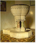 The victorian Font - St. Mary's, Holme-next-the-Sea