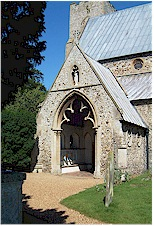 South Porch as it is today - St. Mary's, Old Hunstanton