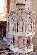 The Pulpit - St. Mary's, Old Hunstanton